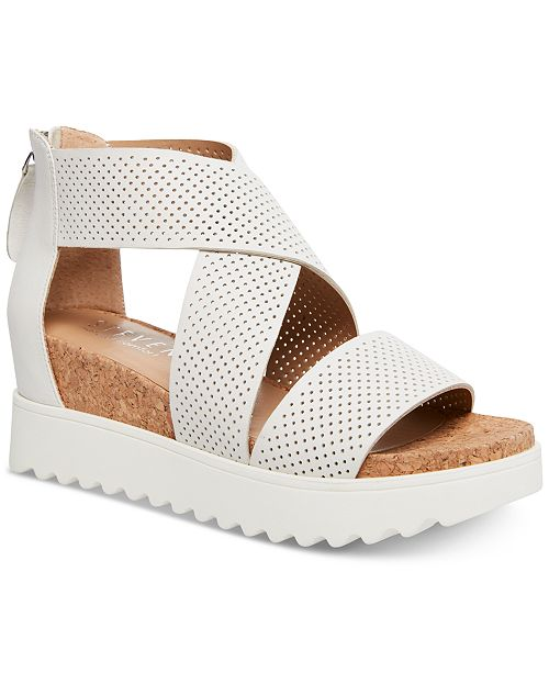 ca03f0caed1 Klein Wedge Sandals