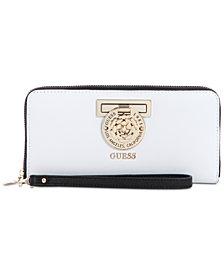 GUESS Carina Zip Around Wallet