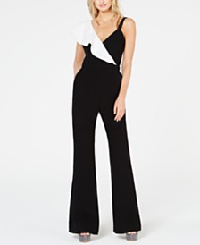 Rachel Zoe Jane One-Shoulder Jumpsuit
