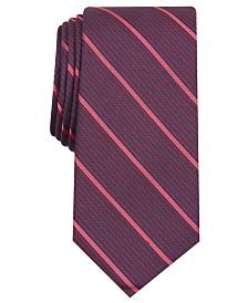 Alfani Men's Stripe Slim Tie, Created for Macy's