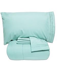 Queen 5-Pc Comforter and Sheet Set