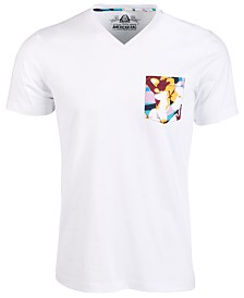 American Rag Men's Floral Pocket T-Shirt, Created for Macy's