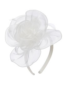Scala Metallic Organza Fascinator