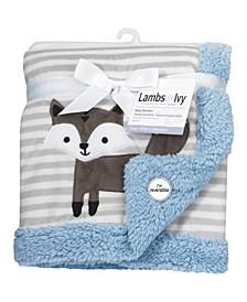 Stay Wild Fox Baby Blanket