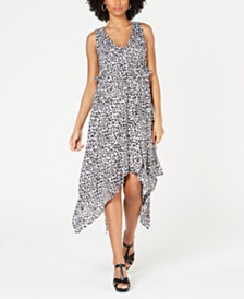 Thalia Sodi Handkerchief-Hem Dress, Created for Macy's