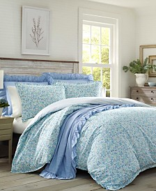 Laura Ashley Jaynie Duvet Cover Set, Full/Queen