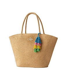 Cathy's Concepts Mrs. Straw Tote