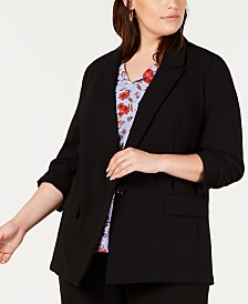 Bar III Plus Size Blazer, Created For Macy's