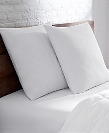 2-Pack of White Goose Euro Pillows