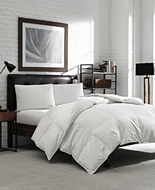 White Duck Down Oversized King Comforter