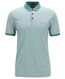 BOSS Men's Prout 16 Regular-Fit Cotton Polo Shirt