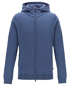 BOSS Men's Fiorenzo Zip-Through Hoodie