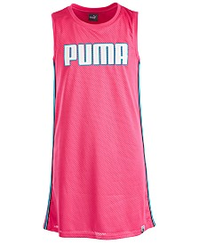 Puma Big Girls Mesh Logo Dress