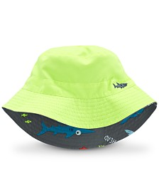 Carter's Baby Boys Reversible Shark-Print Bucket Hat
