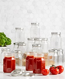 Quart Sharing Jars, 16-Pc. Set