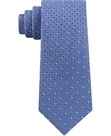 Men's Mini Square Geo Slim Tie