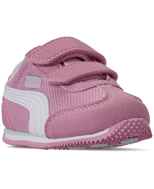 Puma Toddler Girls' Whirlwind Athletic Casual Sneakers from Finish Line