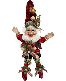 Christmas Caroling Elf, Small - 10 Inches