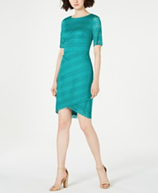 Jessica Howard Petite Lace Sheath Dress