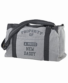 Lillian Rose Property of Daddy Diaper Bag