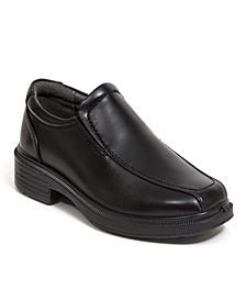 Toddler, Little, and Big Boys Greenpoint Jr Classic Dress Comfort Runoff Toe Slip-On