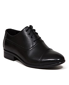 Little and Big Boys Alver Classic Cap Toe Bal Dress Comfort Oxford