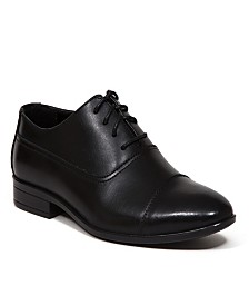 Deer Stags Little and Big Boys Alver Classic Cap Toe Bal Dress Comfort Oxford