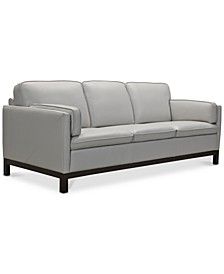 "Virton 87"" Leather Sofa, Created for Macy's"