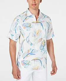 Men's Raphael Pastel Leaf Shirt