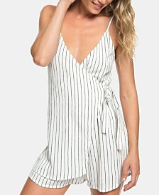 Roxy Juniors' Wrap Front Romper