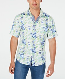 Tommy Bahama Men's Florence Flora Printed Shirt