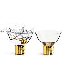 Sagaform Club Gold Cocktail Glass, 2 Pack