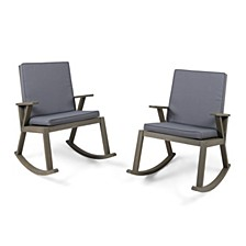 Champlain Outdoor Rocking Chair, Set of 2