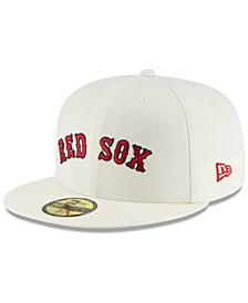Boston Red Sox Vintage World Series Patch 59FIFTY Cap