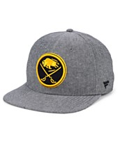 best website f1af6 0cc33 Authentic NHL Headwear Buffalo Sabres Chambray Emblem Snapback Cap