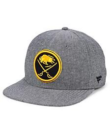 Authentic NHL Headwear Buffalo Sabres Chambray Emblem Snapback Cap