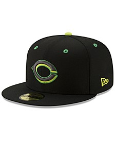 Cincinnati Reds Night Moves 59FIFTY Fitted Cap