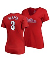 a864d1c99ce Majestic Women's Bryce Harper Philadelphia Phillies Crew Player T-Shirt