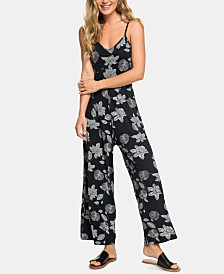 Roxy Juniors' Floral Print Jumpsuit