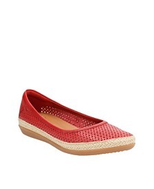 Clarks Collection Women's Danelly Adira Espadrille Flats