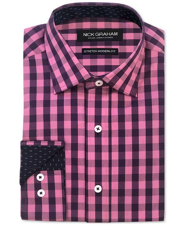 Nick Graham Men's Gingham Shirt