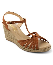 XOXO Syracuse Wedge Espadrille Sandals