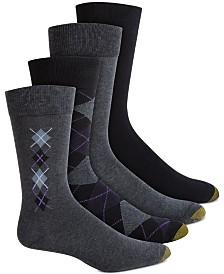 4-Pack Argyle Dress Socks
