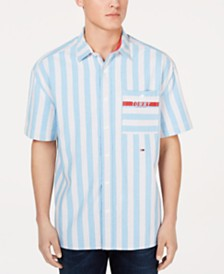 Tommy Hilfiger Men's Nicholas Striped Shirt
