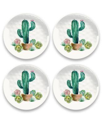 Desert Garden Salad Plate, Set of 4