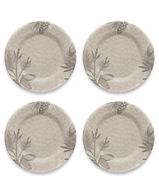 Rustic Pine Dinner Plate, Set of 4