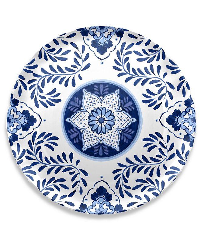 TarHong Cobalt Casita Round Platter