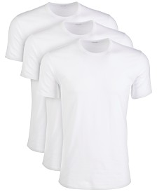 Calvin Klein Men's Cotton Stretch Performance Undershirts 3-Pack
