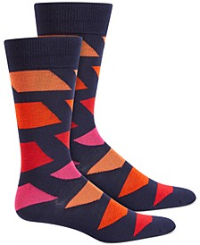 Men's Colorblocked Socks, Created for Macy's