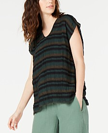 Eileen Fisher V-Neck Top, Regular & Petite